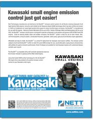 Kawasaki Small Engine Muffer Parts Brochure Download