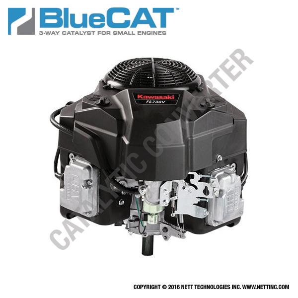 Kawasaki Small Engine Exhaust, Muffler, Parts and Emission