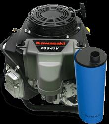 Kawasaki Small-Engine with Nett 3-Way Catalytic Converter