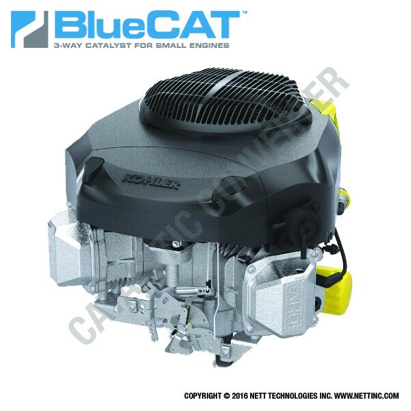 Kohler Small Engine Exhaust Emission Solution by Nett