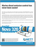 Marine Exhaust Black Soot NOVA 320 Active DPF Brochure