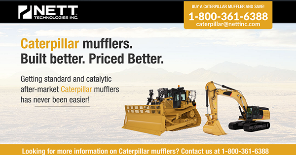 Caterpillar 1 caterpillar mufflers built better priced better nett  at reclaimingppi.co