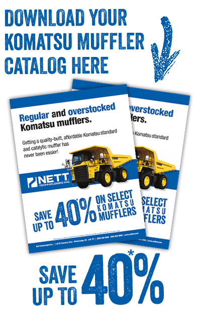 Komatsu Mufflers  Built better  Priced better  | NETT