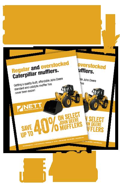 Caterpillar Catalytic Converters  Priced and built Better  | NETT