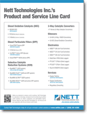 Nett Technologies Line Card