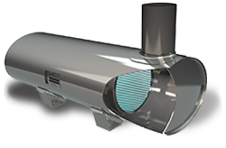Product shot BlueCAT™ 200 3-Way Catalytic Converters for LSI