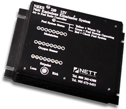 Photo of the NEES™ 210 air/fuel ratio controller