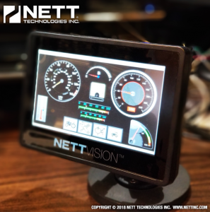 NettVision GUI (Graphical User Interface)