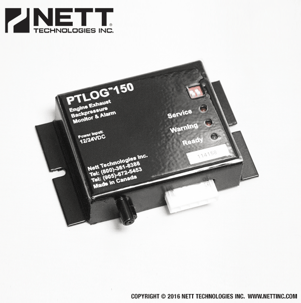 PTLOG™ 150 Data Logger for Emission Control Systems